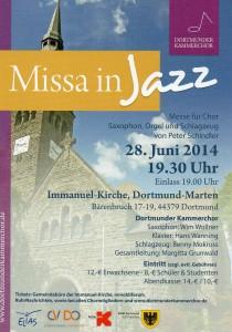 Missa im Jazz 28.6.2014
