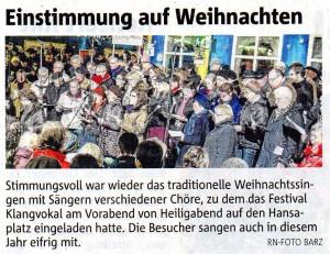 Ruhr Nachrichten 27.12.2014