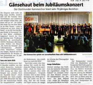 Bericht der Ruhr Nachrichten vom 26.4.2016