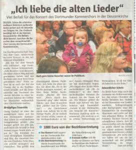 Ruhr Nachrichten 20.12.2016